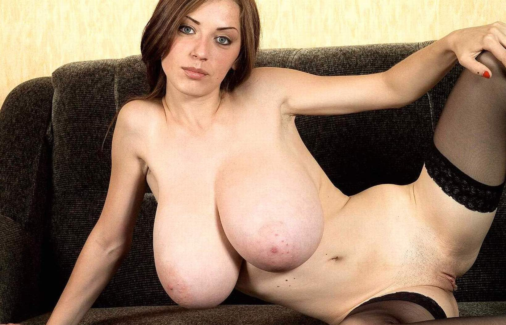 breasts long naked very large