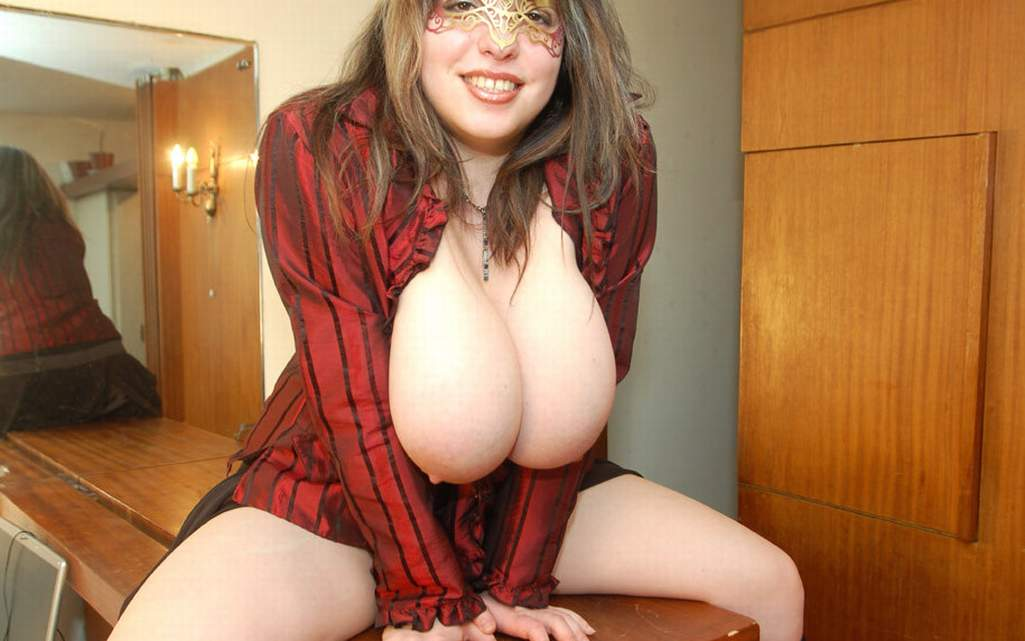 Huge breast hd