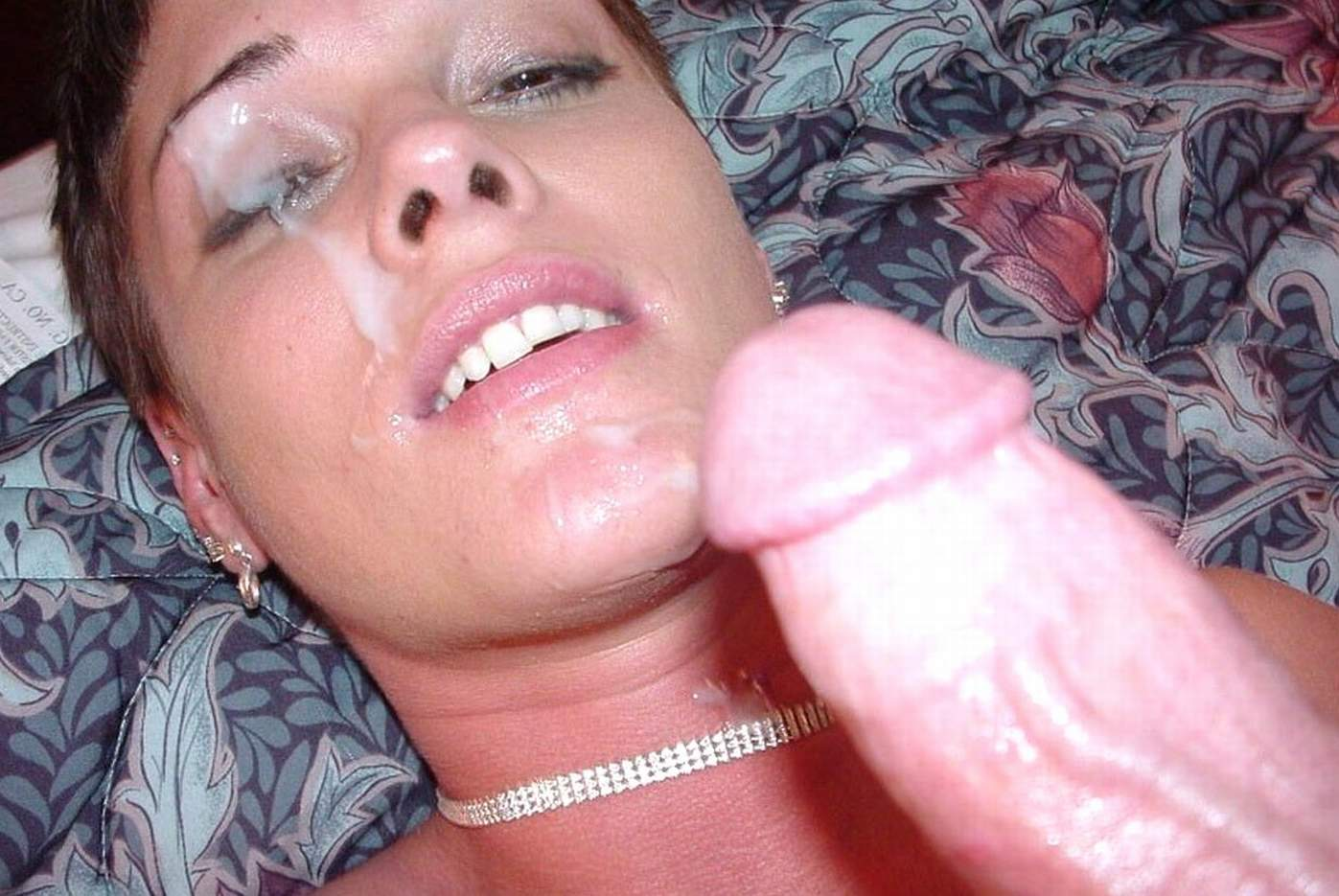 Nylon feet milf tube