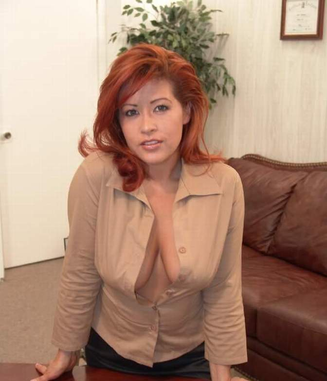 Cute office lady nude — 13