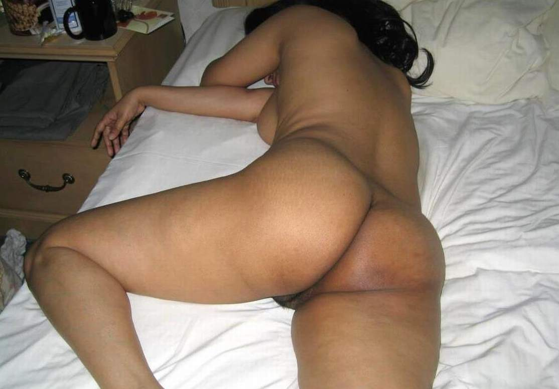 naked sleeping Indian woman