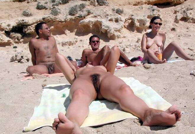 naked beach in franch