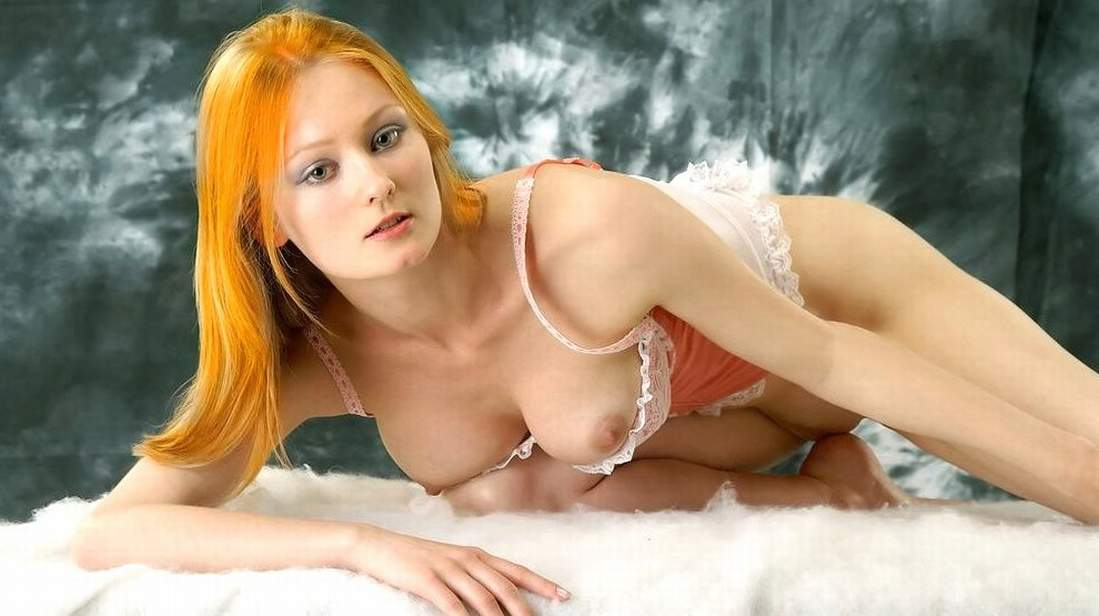 pale red head slut