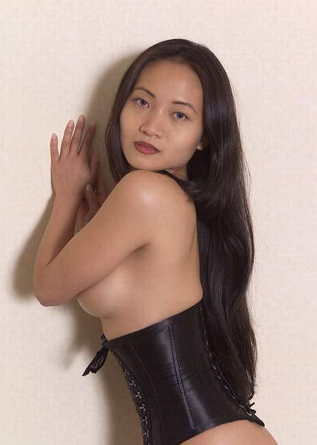Join. All Nude asain in black leather pity