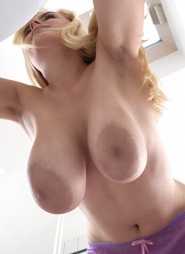 huge natural hanging breasts